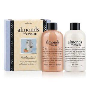 Philosophy Almonds & Cream Gift Set Lotion Gel